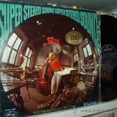 Discos de vinilo: PETE RUGOLO & ALL THAT BRASS LP STUDY IN STEREO SPAIN MINT- MUY BUENO. Lote 31346037