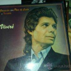 Discos de vinilo: CAMARON LP VIVIRE 1984. Lote 193778790