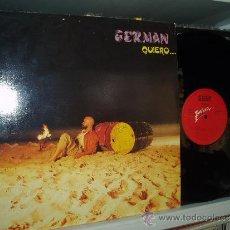 Discos de vinilo: GERMAN LP QUIERO ELECTRONICO SHYNT POP REFUGIO ATOMICO + 6 SPAIN. Lote 31350788
