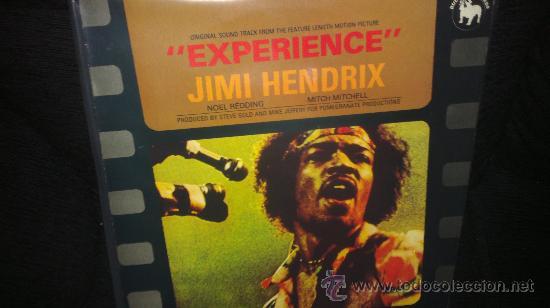 JIMI HENDRIX LP EXPERIENCE ORIGINAL SOUND TRACK (Música - Discos - LP Vinilo - Rock & Roll)