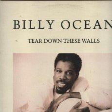 Discos de vinilo: BILLY OCEAN - TEAR DOWN THESE WALLS . Lote 31354816