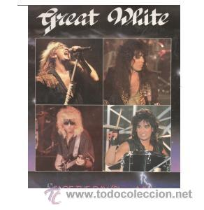 GREAT WHITE - MAXISINGLE -FACE THE DAY -EMI 1986 EEC (Música - Discos de Vinilo - Maxi Singles - Heavy - Metal)