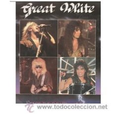 Discos de vinilo: GREAT WHITE - MAXISINGLE -FACE THE DAY -EMI 1986 EEC. Lote 31355757