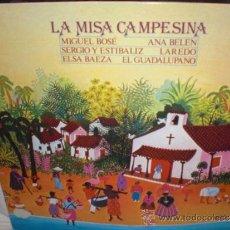 Discos de vinilo: MIGUEL BOSE,ANA BELEN ,ETC-LP (MISA CAMPESINA). Lote 31357297