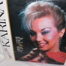 Discos de vinilo: KARINA-LP-(AYER Y HOY). Lote 31357321