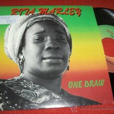 Discos de vinilo: RITA MARLEY ONE DRAW/KEEP ON PUSHING 7 SINGLE 1993 TABALA ED ESPAÑOLA. Lote 31374242