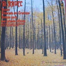 Discos de vinilo: LP - RAVEL - BOLERO/ALBORADA DEL GRACIOSO/PAVANA PARA UNA INFANTA DIFUNTA - DISCOS DOBLON 1980. Lote 31369789