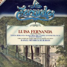 Discos de vinilo: LA ZARZUELA - 50 LPS (DEL Nº 1 AL Nº 50) EDICION DE 1979. Lote 31375288