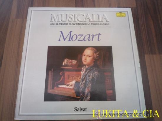 MUSICALIA - LOS MIL MEJORES FRAGMENTOS DE LA MÚSICA CLÁSICA - MOZART (Música - Discos - LP Vinilo - Clásica, Ópera, Zarzuela y Marchas)