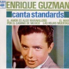 Discos de vinilo: ENRIQUE GUZMAN - EL AMOR ES ALGO MARAVILLOSO - POR EL CAMINO DE MEXICO - EP 1963 PRACTICAMENTE NUEVO. Lote 31376468