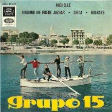 Discos de vinilo: GRUPO 15 EP SELLO EMI-REGAL AÑO 1966. Lote 31384787