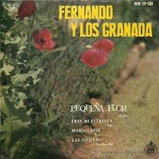 Discos de vinilo: FERNANDO Y LOS GRANADA EP SELLO HISPAVOX AÑO 1959. Lote 31384842