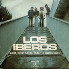 Discos de vinilo: LOS IBEROS - SINGLE VINILO PROMOCIONAL - MARÍA, TOBIAS Y JOHN + 1 - EDITADO ESPAÑA - COLUMBIA 1973. Lote 31405432