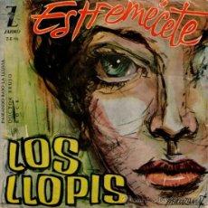 Discos de vinilo: LOS LLOPIS - EP SINGLE VINILO 7'' - ESTREMÉCETE + ROCK + 2 - EDITADO EN ESPAÑA - ZAFIRO 1960.. Lote 31405446