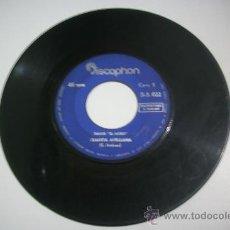 Discos de vinilo: SINGLE SIN CARATULA /EMILIO EL MORO/ JUANITA AVELLANA + CAENA DE ORO DISCOPHON 1966. Lote 31444045