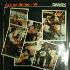 Discos de vinilo: ARA VA DE BO VI. ALS 4 VENTS 1980. LP. Lote 31415475