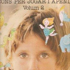Discos de vinilo: LP CANÇONS PER JUGAR I APENDRE (LA MAINADA , FRANCESC BURRULL , LLEO BORRELL ). Lote 31422500