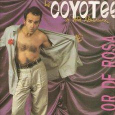 Discos de vinilo: LP LOS COYOTES DE VICTOR ABUNDANCIA - DE COLOR DE ROSA . Lote 31422654