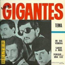 Discos de vinilo: LOS GIGANTES EP SELLO BELTER AÑO 1966. Lote 31425956