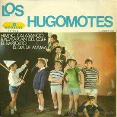 Discos de vinilo: LOS HUGOMOTES EP SELLO SESION AÑO 1966. Lote 31430133