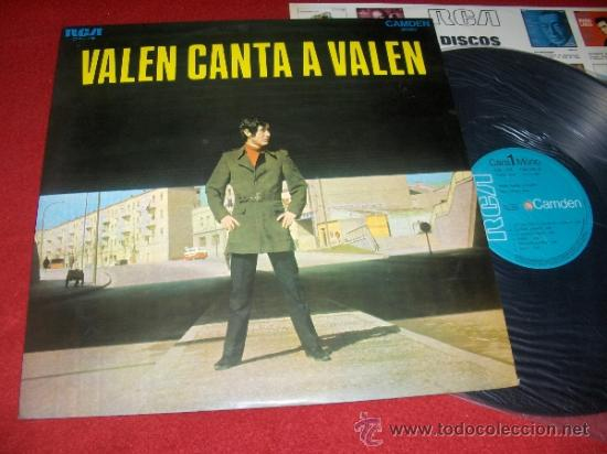 VALEN CANTA A VALEN LP 1969 RCA (Música - Discos - LP Vinilo - Solistas Españoles de los 50 y 60)