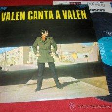 Discos de vinilo: VALEN CANTA A VALEN LP 1969 RCA . Lote 31456852
