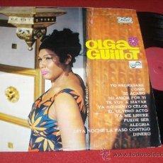 Discos de vinil: OLGA GUILLOT LP 1969 ZAFIRO ED ESPAÑOLA. Lote 31457646