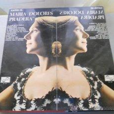 Discos de vinilo: EXITOS MARIA DOLORES PRADERA. LA FLOR DE LA CANELA, FUEGO LENTO...... . Lote 31497370