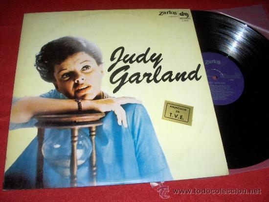 JUDY GARLAND LP 1980 ZARTOS ED ESPAÑOLA (Música - Discos - LP Vinilo - Bandas Sonoras y Música de Actores )