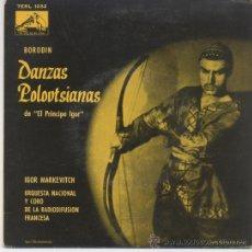 Discos de vinilo: IGOR MARKEVITCH,DANZAS POLOVTSIANAS. Lote 31493853