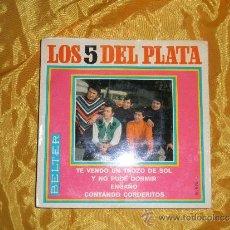 Discos de vinilo: LOS 5 DEL PLATA. TE VENDO UN TROZO DE SOL. EP. BELTER 1969. IMPECABLE. Lote 31510228