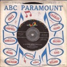 Discos de vinilo: SINGLE-JO ANN CAMPBELL-ABC PARAMOUNT 10134-USA-1960. Lote 31514654