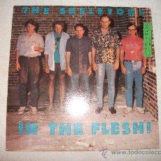 Discos de vinilo: THE SKELETONS / IN THE FLESH! / DEMON RECORDS 1988. Lote 31519805