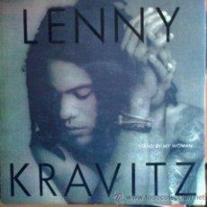 Discos de vinilo: LENNY KRAVITZ – STAND BY MY WOMAN / FLOWERS FOR ZOE (VIRGIN 1991). Lote 31524437