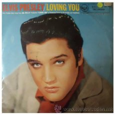 Discos de vinilo: ELVIS PRESLEY - LOVING YOU - LP ORIGINAL INGLES DE 10 PULGADAS DE 1957 RARISIMO. Lote 31525314