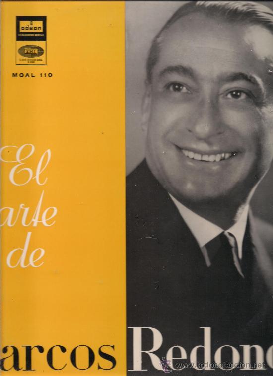 el arte de marcos redondo. odeon 1958. - Comprar Discos LP Vinilos ...