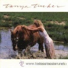 Discos de vinilo: TANYA TUCKER LP STRONG ENOUGH TO BEND 1988 CAPITOL ENGLAND. Lote 31529743