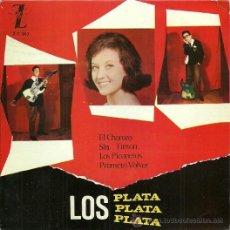 Discos de vinilo: LOS PLATA EP SELLO ZAFIRO AÑO 1964.. Lote 31532436
