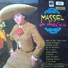 Discos de vinilo: MASSIEL EN MÉXICO - DISCO DE VINILO LP. Lote 31534267