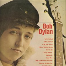 Disques de vinyle: LP BOB DYLAN - A BRIGHT NEW NAME IN FOLK MUSIC. Lote 31542519