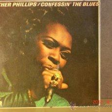 Discos de vinilo: ESTHER PHILLIPS - CONFESSIN' THE BLUES - ATLANTIC-HISPAVOX HATS 421-186 (LS) - 1976. Lote 31545040