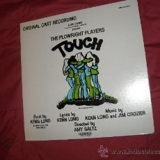 Discos de vinilo: THE PLOWRIGHT PLAYERS - TOUCH LP ORIGINAL CAST OFF-BROADWAY USA THE COUNTRY ROCK MUSICAL. Lote 31555370