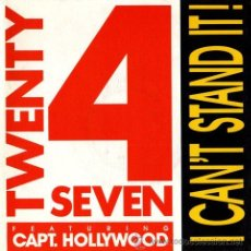 Disques de vinyle: TWENTY 4 SEVEN ·· I CAN'T STAND IT! (RADIO VERSION) / I CAN'T STAND IT! (SHORT... - (SG 45R) - NUEVO. Lote 31557257