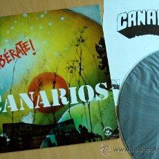 Discos de vinilo: CANARIOS LP LIBERATE! 1971 ORIG PSYCH PROG (ENCARTE) A ESTRENAR!!!. Lote 31557782