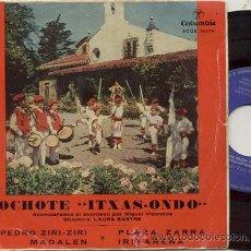 Discos de vinilo: EP 45 RPM / OCHOTE ITXAS ONDO / MADALEN . Lote 31558268