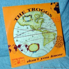 Discos de vinilo: THE TROGGS - MAXI SINGLE VINILO 12'' - 2 TRACKS - MADE IN E.E.C. - PAGE ONE 1992. Lote 31567080