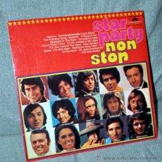 Discos de vinilo: MIGUEL RIOS, RITA PAVONE, JAMES LAST, BARRY RYAN, LOUIS AMSTRONG Y MÁS - LP NON STOP - EDIT ALEMANIA. Lote 31567592