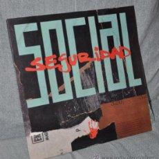 Discos de vinilo: SEGURIDAD SOCIAL - LP VINILO 12'' - VINO, TABACO Y CARAMELOS - EDITADO ESPAÑA - 10 TRACKS, GASA 1990. Lote 31567707