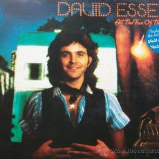 Discos de vinilo: DAVID ESSEX,ALL THE FUN OF THE FAIR EDICION INGLESA DOBLE CARPETA. Lote 31570923