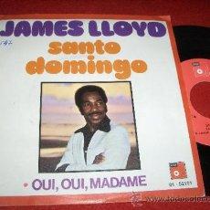 """Discos de vinilo: JAMES LLOYD SANTO DOMINGO 7"""" SINGLE 1975 BASF PROMO. Lote 31573043"""